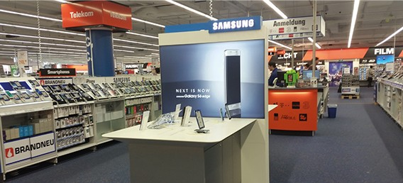 Shop in Shop Samsung