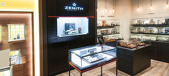 Shop in Shop Zenith